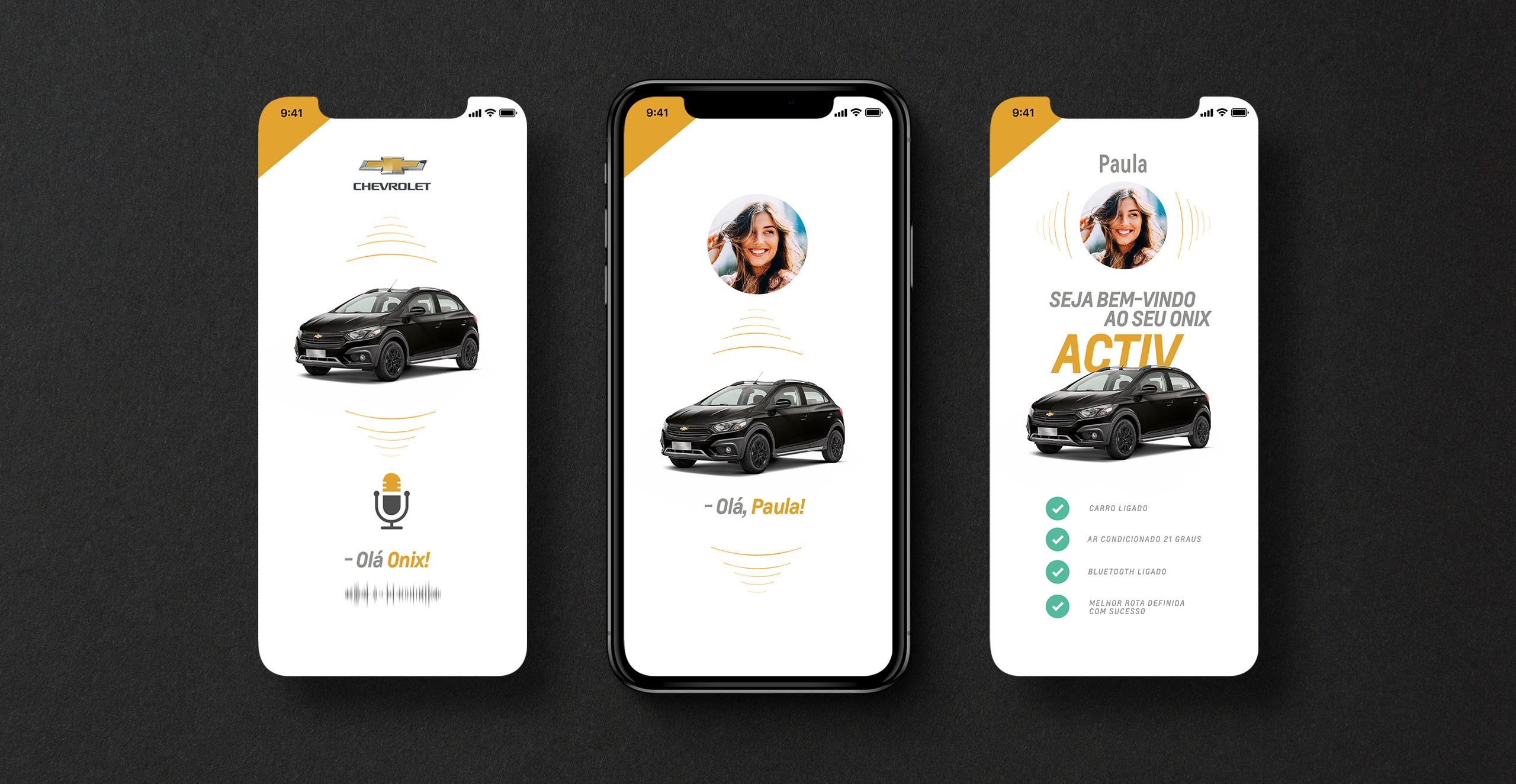 Felipe Espanhol App My Chevrolet